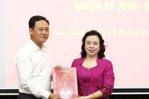 Nhân sự mới Hà Nội và Quảng Ninh