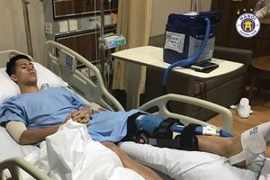 Đình Trọng gửi lời cảm ơn sau phẫu thuật thành công ở Singapore: Sẵn sàng cho mọi thử thách