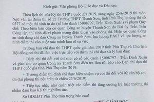 Thí sinh gửi đề thi môn Văn THPT quốc gia lên Facebook nhờ sinh viên sư phạm giải hộ