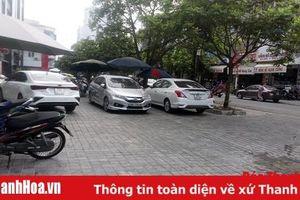 Cần xử lý nghiêm tình trạng dừng, đỗ xe không đúng nơi quy định