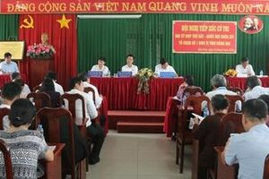 Đồng chí Võ Văn Thưởng tiếp xúc cử tri tại Đồng Nai