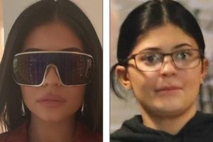 Bất ngờ với gương mặt khác lạ của Kylie Jenner khi không trang điểm