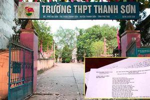 Thí sinh chụp đề Văn THPT Quốc gia đăng lên mạng: Công an tỉnh Phú Thọ thông tin