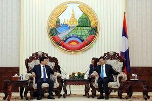 Việt Nam - Lào tăng cường phối hợp triển khai các thỏa thuận chung