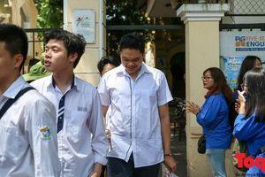 Kỳ thi tốt nghiệp THPT quốc gia: Kẻ tự tin người buồn bã rời trường thi
