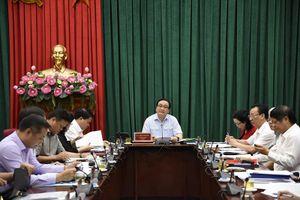Bí thư Thành ủy Hoàng Trung Hải: Làm tốt phần dự báo trong các đề tài nghiên cứu thuộc Chương trình 20-CTr/TU