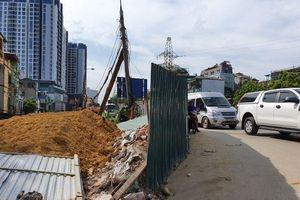 Cảnh cáo nhà thầu thi công dự án cải tạo đường Nguyễn Khoái