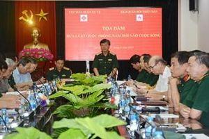 Cục Dân quân tự vệ và Báo Quân đội nhân dân phối hợp tổ chức tọa đàm 'Đưa Luật Quốc phòng năm 2018 vào cuộc sống'