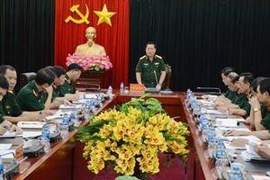 Chuẩn bị tốt nhất cho Hội nghị sơ kết CVĐ và tôn vinh điển hình tiên tiến cấp Bộ Quốc phòng
