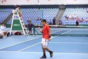 Đội tuyển quần vợt Việt Nam chạm một tay đến chiếc vé thăng hạng giải quần vợt Davis Cup