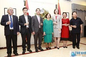 Long trọng kỷ niệm Quốc khánh Canada tại Hà Nội
