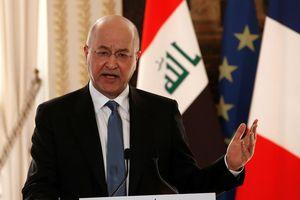 Tổng thống Iraq: Mỹ là đối tác quan trọng, nhưng quan hệ với Iran là 'lợi ích quốc gia'