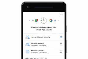Cách thiết lập tự động xóa lịch sử vị trí trên Google