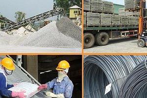 Đề xuất sửa quy định về quản lý vật liệu xây dựng