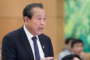 Phó Thủ tướng: 'Thiếu dân thì tham nhũng vặt cũng dẹp không xong'