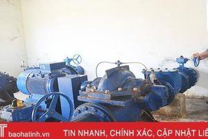 Nắng nóng, Hà Tĩnh không để thiếu nước sinh hoạt ở các đô thị lớn
