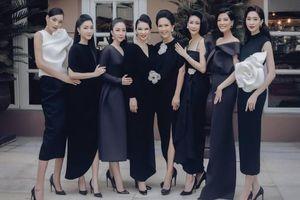 Các thế hệ mỹ nhân V-biz đọ gu thời trang cùng tông màu đen-trắng