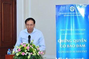 Lần đầu tiên Việt Nam giao dịch chứng quyền có đảm bảo