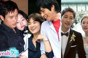 Trước khi ly hôn với Song Jong Ki, những mối tình của Song Hye Kyo với bạn diễn nổi tiếng cũng đã kết thúc ngắn ngủi và đầy tiếc nuối như thế