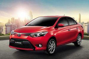Toyota triệu hồi hơn 200 xe Vios do lỗi có thể gây chấn thương nghiêm trọng