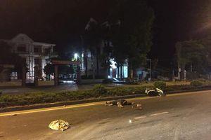 Hai thanh niên tử vong tại chỗ nghi do va chạm giao thông