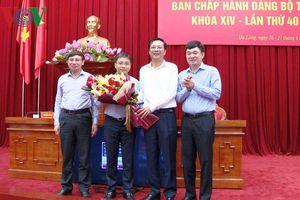 Ông Nguyễn Văn Thắng trúng cử chức Phó Bí thư Tỉnh ủy Quảng Ninh