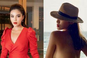 Hoa hậu Kỳ Duyên bán nude khoe thành quả 20 ngày giảm cân