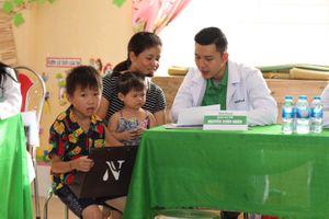 Hành trình vì trẻ suy dinh dưỡng, thấp còi đến vùng núi Yên Bái