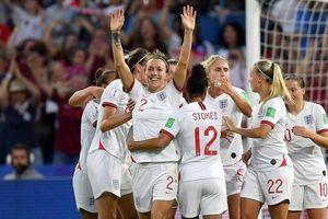Anh giành tấm vé đầu tiên vào bán kết World Cup nữ 2019
