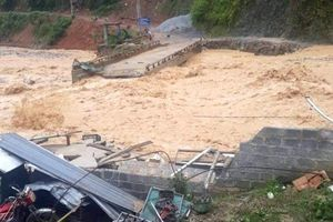 Còn năm bản ở Lai Châu bị cô lập do mưa lũ