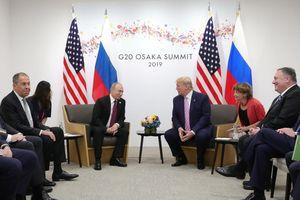 Tổng thống Trump cười, nhắn nhủ Tổng thống Putin: đừng can dự bầu cử