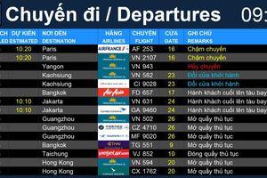Từ 1.7, khách đi từ sân bay Tân Sơn Nhất theo dõi lịch bay thế nào?