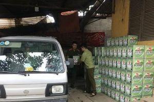 Nhập lậu 2.400 chai bia vào Việt Nam tiêu thụ