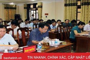 Bàn cách thức phát triển, nâng cao chất lượng đảng viên ở Lộc Hà