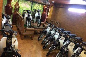 Choáng váng dàn 'huyền thoại' Honda Dream tiền tỷ ở Hà Nội
