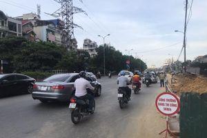 Hứa khắc phục thiếu sót trong thi công dự án cải tạo đường Nguyễn Khoái