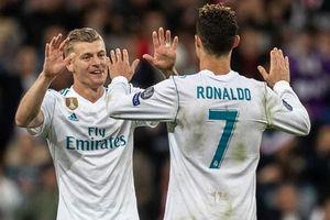 Toni Kroos: 'Ai cũng hạnh phúc khi Cristiano Ronaldo rời Real Madrid'