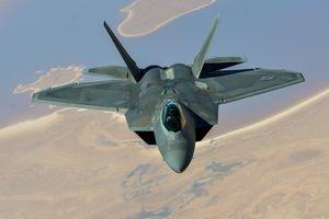 Mỹ triển khai tiêm kích F-22 đến canh chừng Iran
