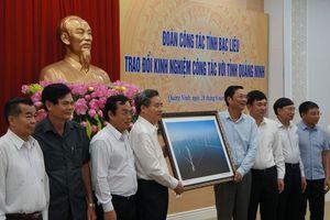 Bạc Liêu mong muốn phát triển kinh tế - xã hội như Quảng Ninh