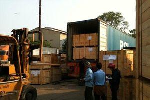 Khối lượng hàng hóa vận chuyển trên địa bàn Hà Nội tăng gần 13%