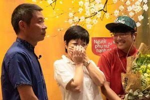 Thảo Vân bật khóc với món quà bất ngờ của con trai, bố mẹ và Công Lý