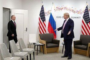 Cuộc gặp Putin - Trump tại thượng đỉnh G20
