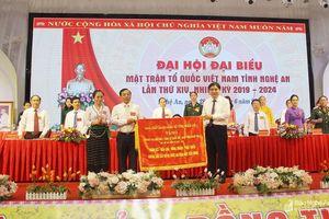 Bí thư Tỉnh ủy: Mặt trận Tổ quốc là mái nhà chung, quy tụ khối đoàn kết toàn dân tộc