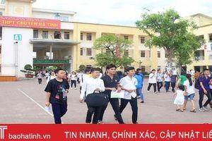 Công bố điểm chuẩn vào lớp 10 Trường THPT Chuyên Hà Tĩnh