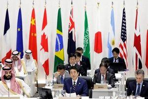 G20 cảnh báo về rủi ro ngày càng tăng đối với kinh tế toàn cầu