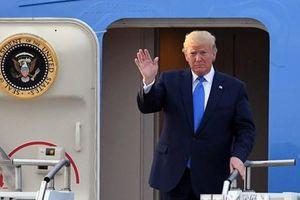 Tổng thống Mỹ Donald Trump bắt đầu thăm chính thức Hàn Quốc