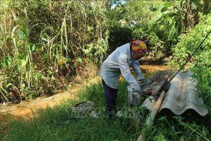 Nhiều vùng tại Hà Tĩnh thiếu nước sinh hoạt do nắng nóng, khô hạn
