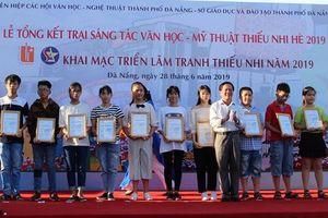 Đà Nẵng: Triển lãm tranh thiếu nhi 2019 với chủ đề: 'Hoàng Sa, Trường Sa của chúng em'
