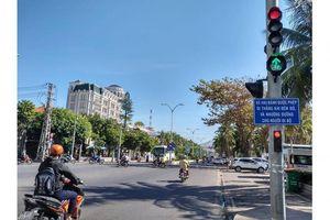 Nha Trang: Giảm ùn tắc nhờ linh hoạt đèn tín hiệu