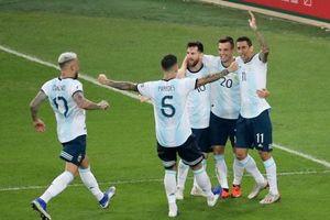 Argentina chạm trán Brazil ở bán kết Copa America 2019
